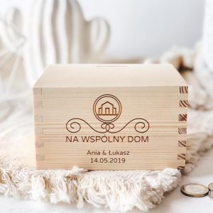 Personalizowana skarbonka - Wspólny Dom