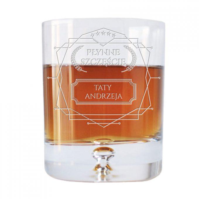 Personalizowana szklanka na Whisky
