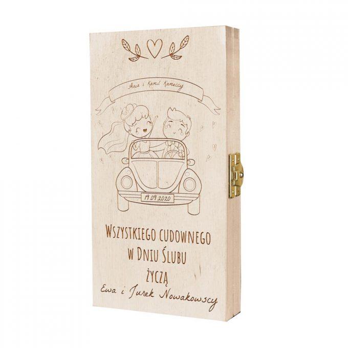 Personalizowane pudełko na pieniądze - Wszystkiego cudownego
