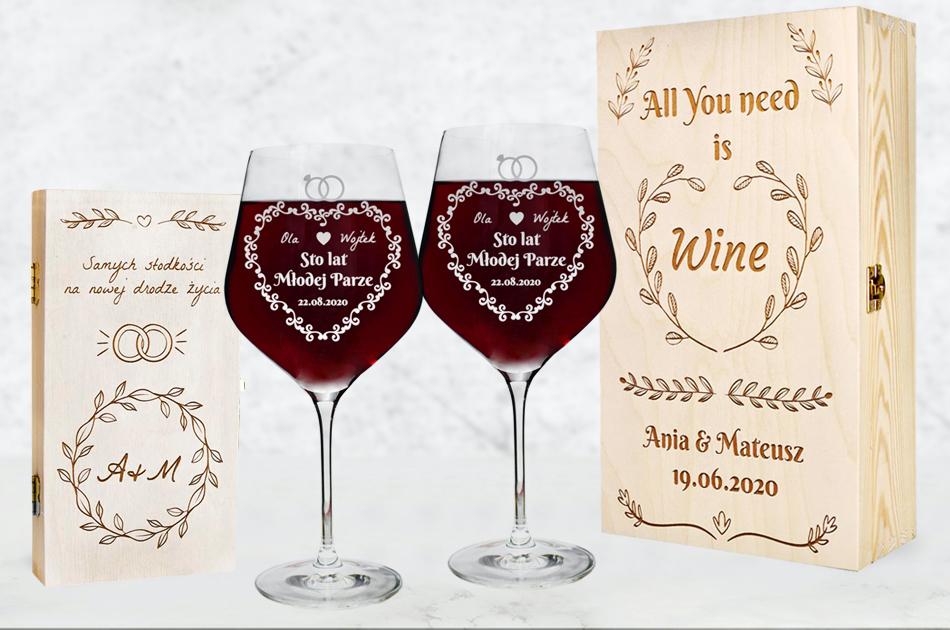 Prezent ślubny 2021 - pieniądze, wino?